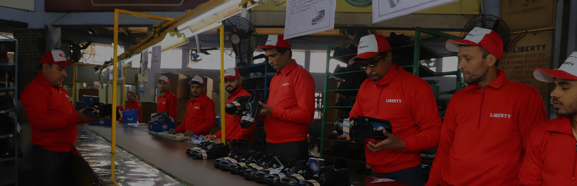 safety shoes manufacturing quality check