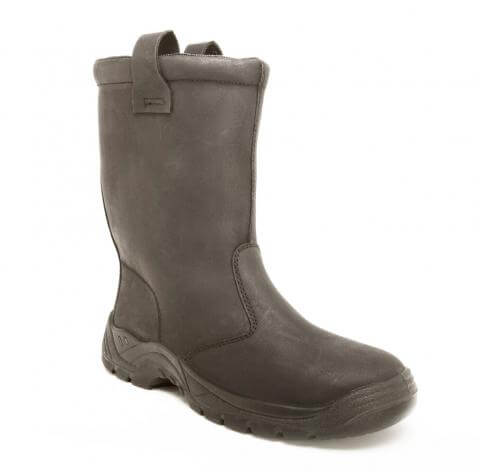 High Ankle Work Boots