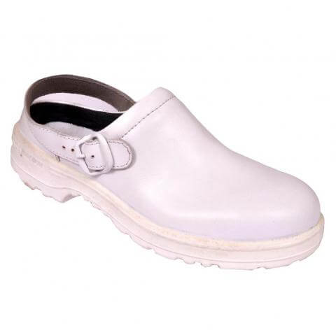 Best Safety Clogs - White