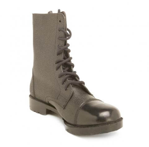 Black Military Boot