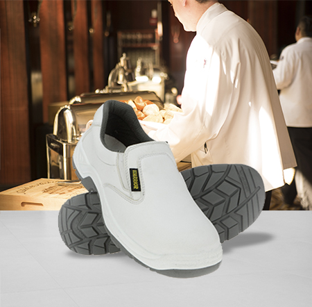 White Safety Shoes